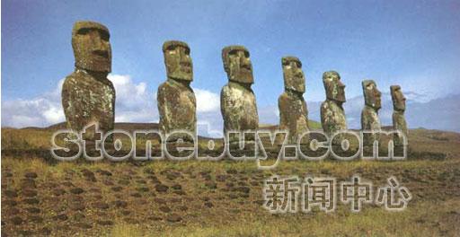 6,复活节岛的巨石雕像