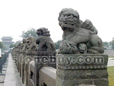 卢沟桥的石狮子