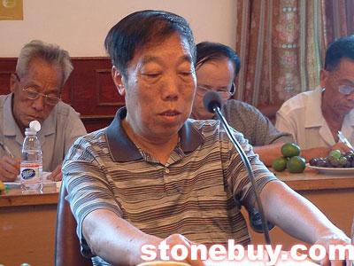 赖德廉:把砚台捐赠给北京奥运会