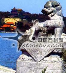 中国的灵兽:吉祥瑞兽石狮子