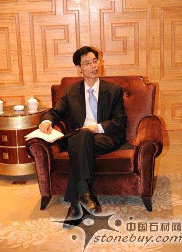 第十七届中国国际石材展先峰人物专访――贸促会建筑材料行业分会常务副会长胡幼奕