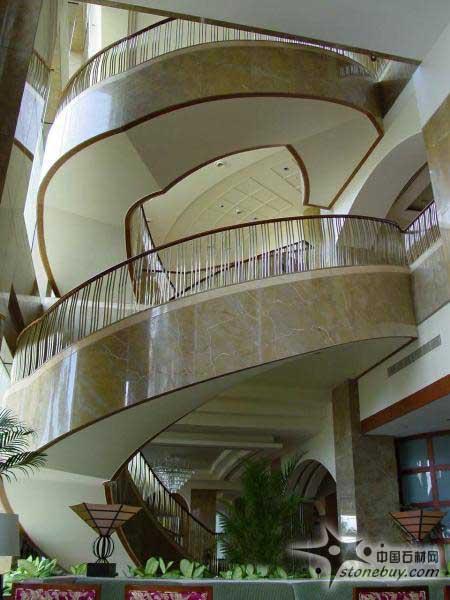大理石旋转楼梯的设计技巧