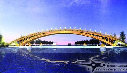 大型桥梁等重型木结构建筑很