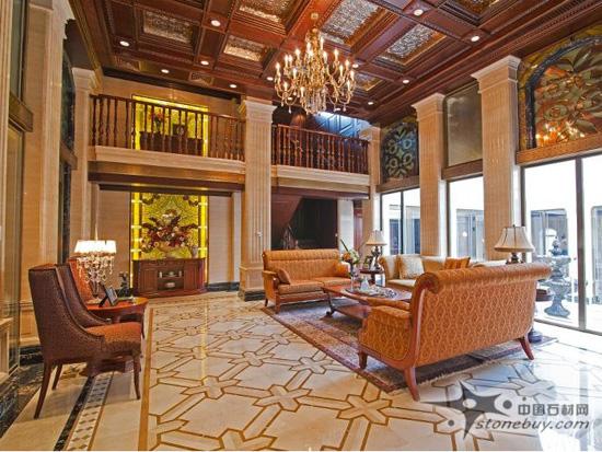 经典石材工程案例——福州安妮女王别墅