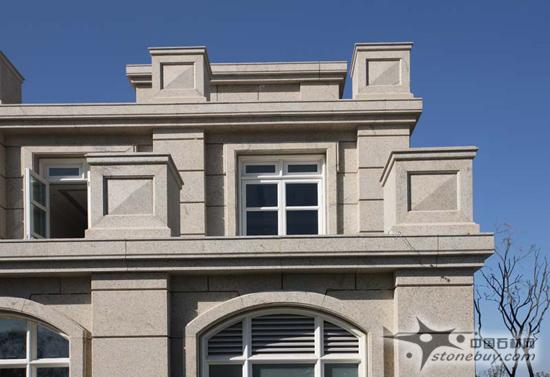 全石材外墙装饰建筑设计