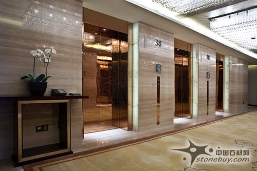 威斯汀酒店石材装饰工程案例