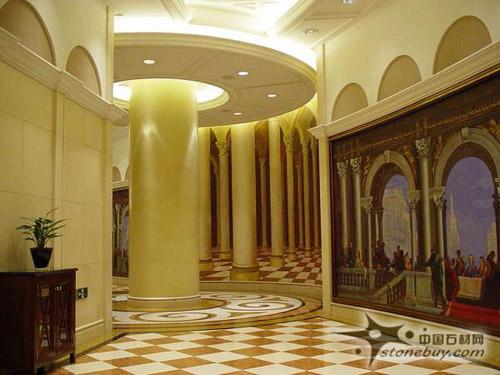 石材马赛克装饰的王国--深圳威尼斯酒店