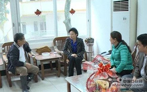 梧州副市长走访台商石材企业 希望更多台商投资岑溪