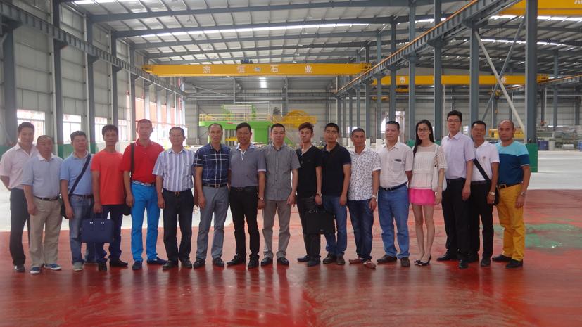 南安石材协会考察团赴郑州、重庆等地考察