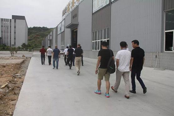 福鼎市考察团一行到南安市考察石材行业发展情况|新闻动态-晋江晋昇爱体育官方网站有限公司