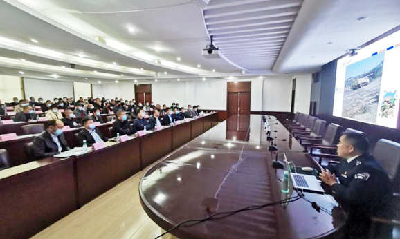 庄河生态环境分局召开石材加工行业综合整治会议,打响环境整治攻坚战